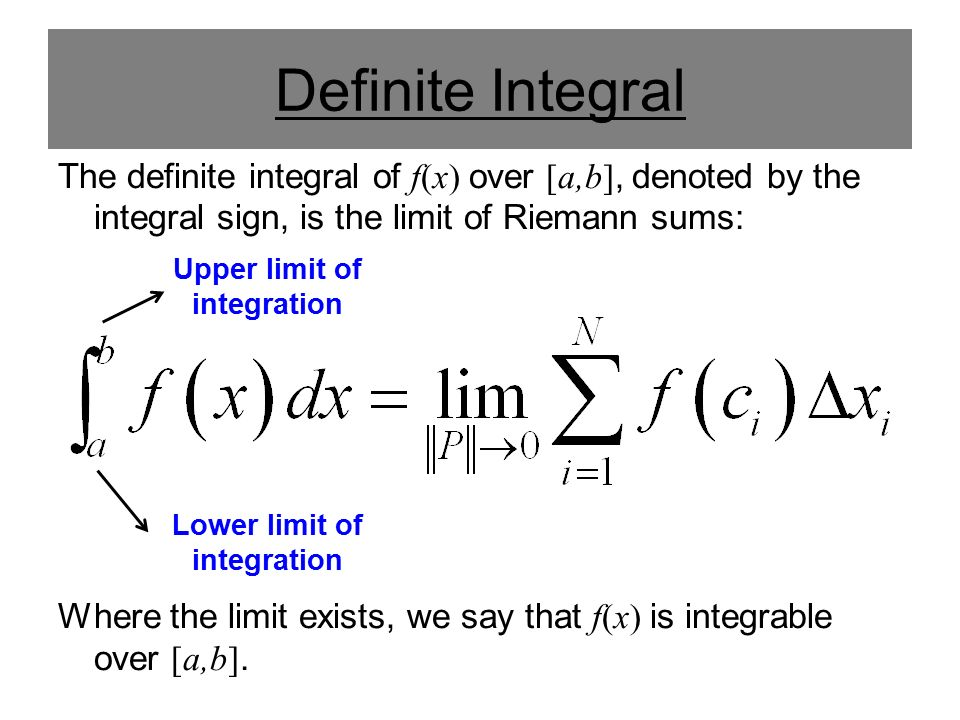 definite integral formulas - photo #20