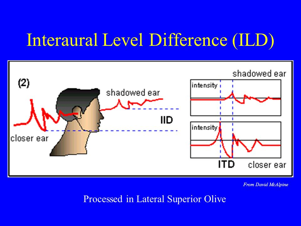 Interaural Level Difference (ILD)