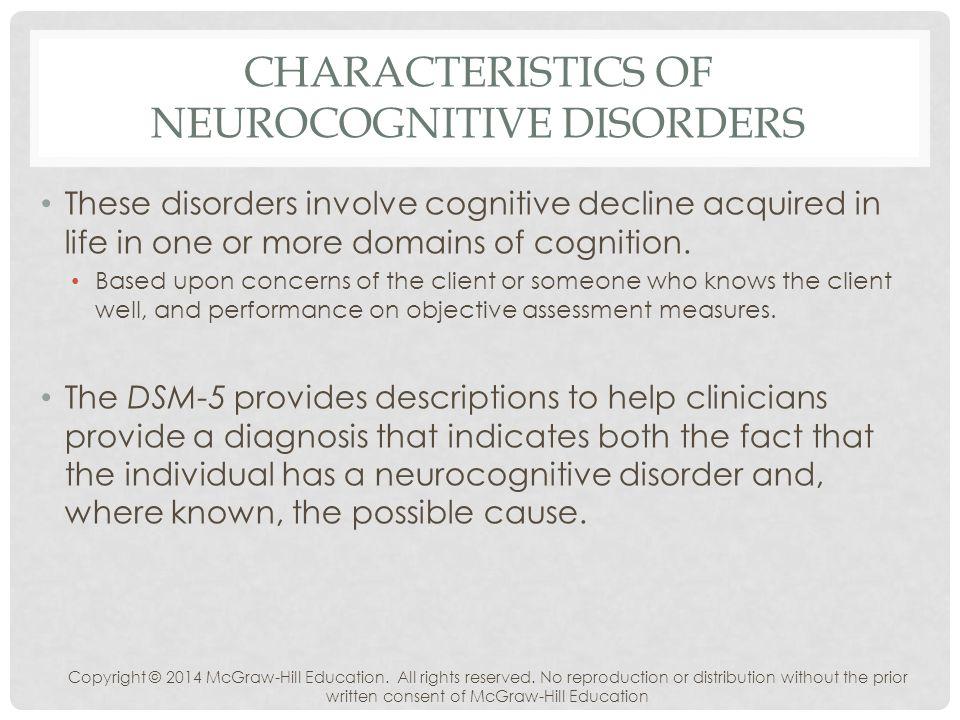 cognitive disorder Cognitive disorder nos symptoms and diagnostic criteria follow belowdsm-iv diagnostic criteria for virtually any mental health disorder.