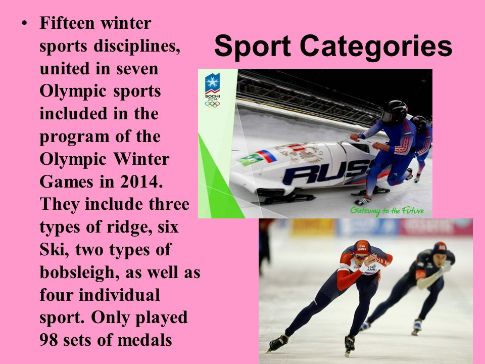 Category Sport: Presentation On: Winter Olympics Ppt Video Online Download