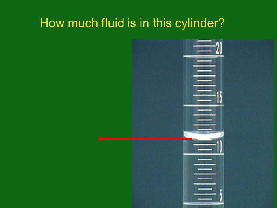How much fluid is in this cylinder