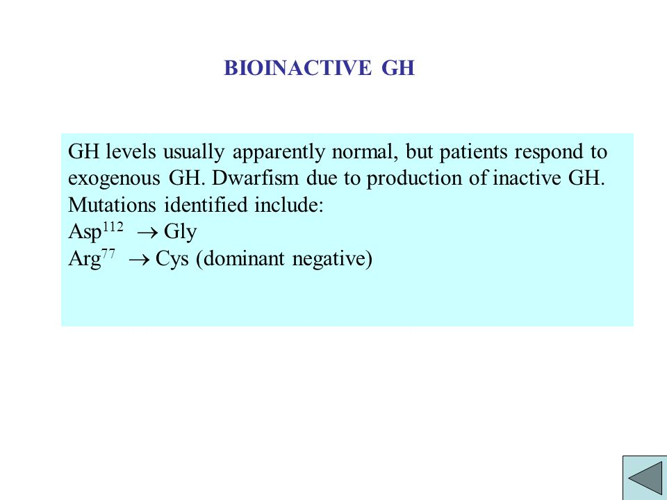 BIOINACTIVE GH