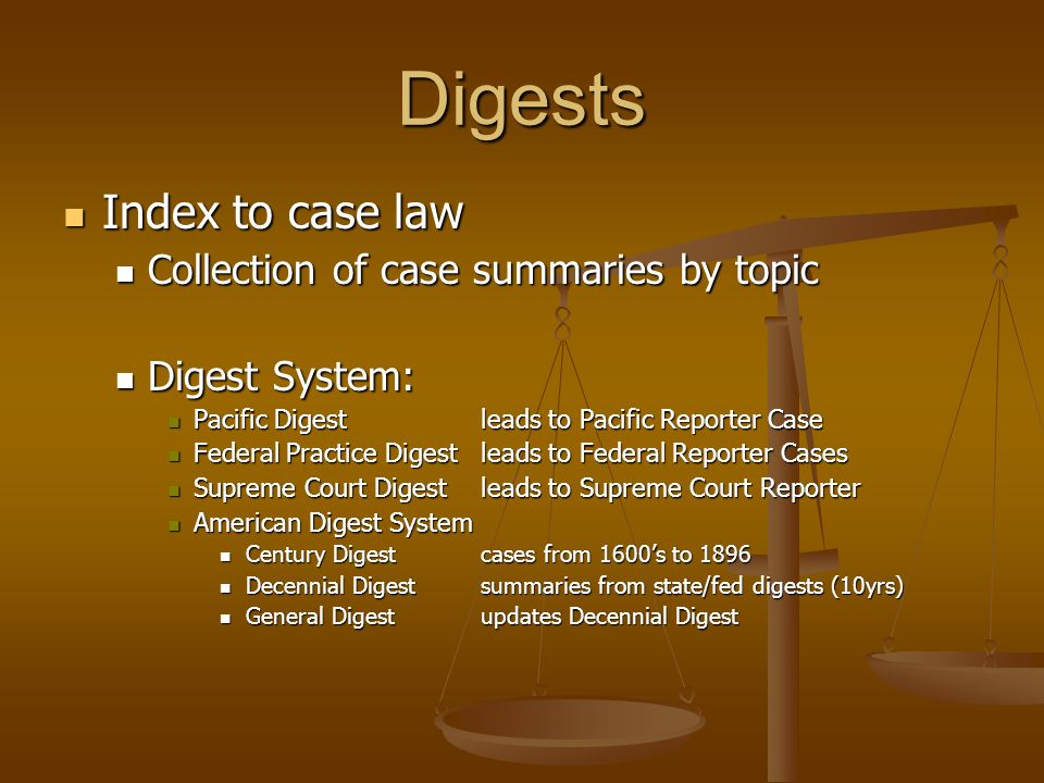law case digest essay The purpose of this chapter is to examine good and bad techniques in writing law essays contract law essay example question by the use of case law explain the.