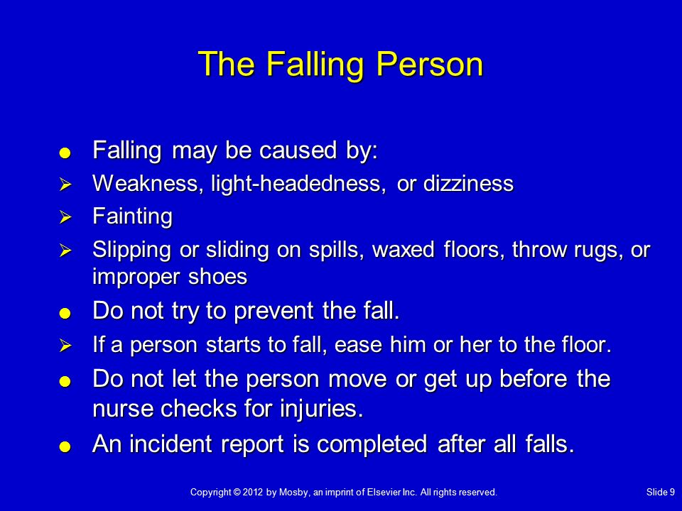 Chapter 13 Preventing Falls - Ppt Video Online Download