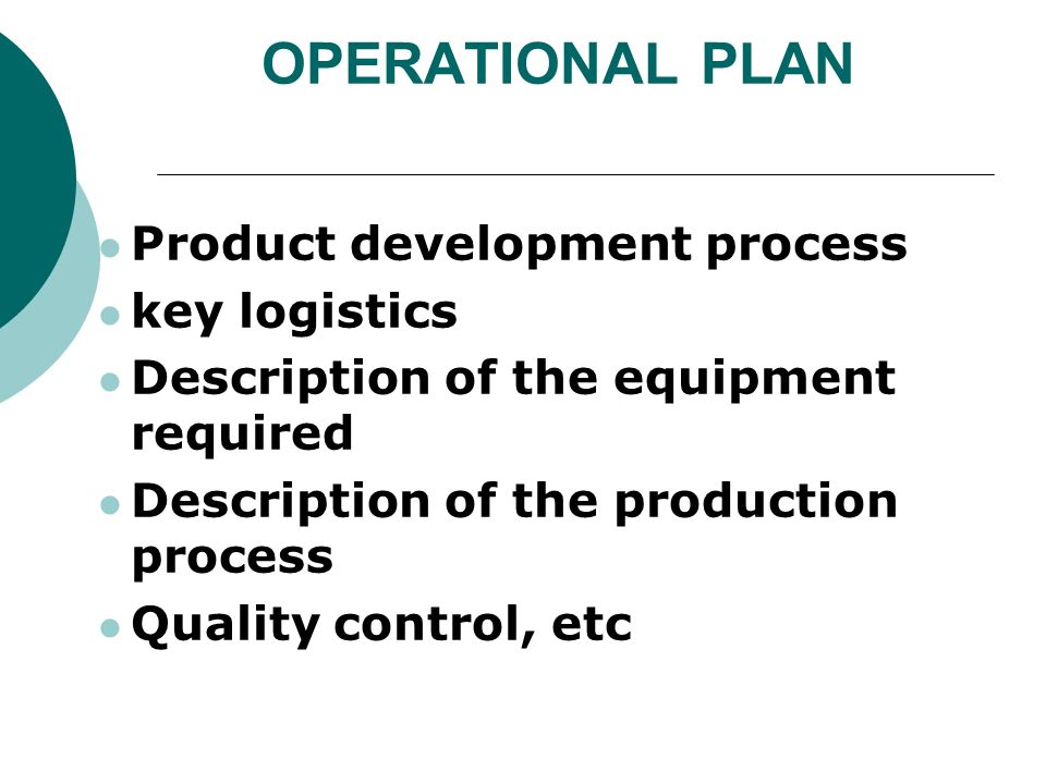 development of an operational plan Operational plans should provide confidence to the unit and to management that financial and human resources are organised to deliver the results they have committed to, and that they have developed plans to implement dfid's agendas on value for money, evaluation and transparency the plans are internal.