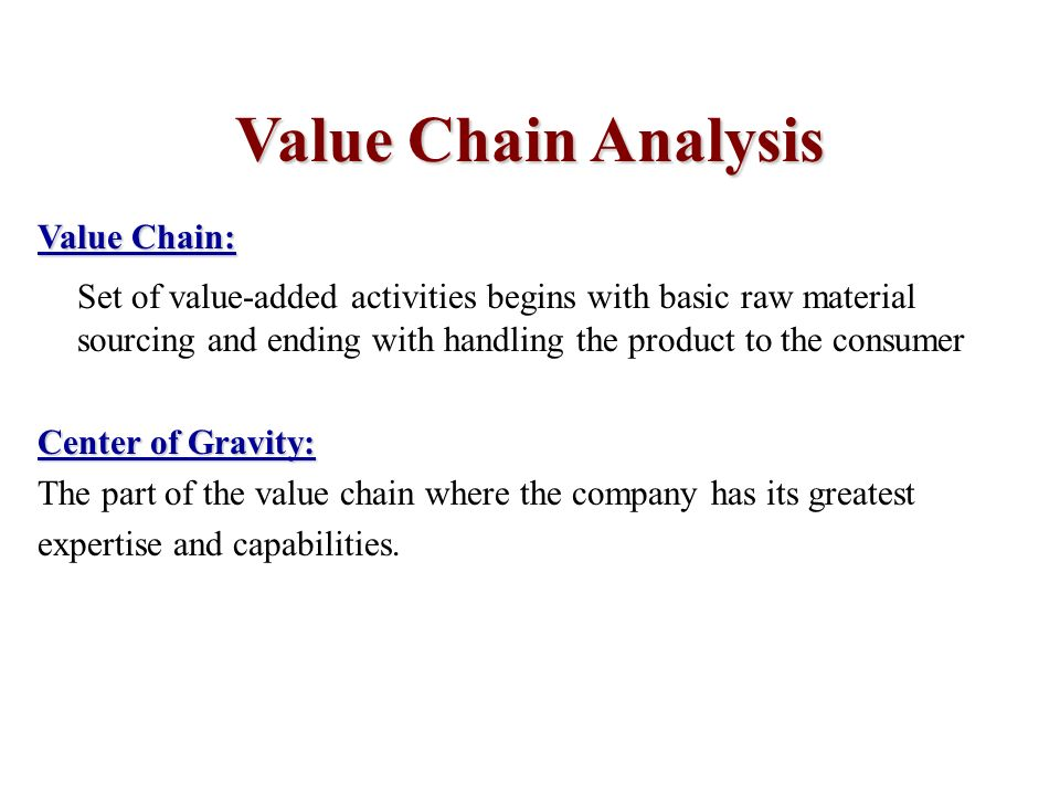Value chain analysis army recruiting company College paper Example
