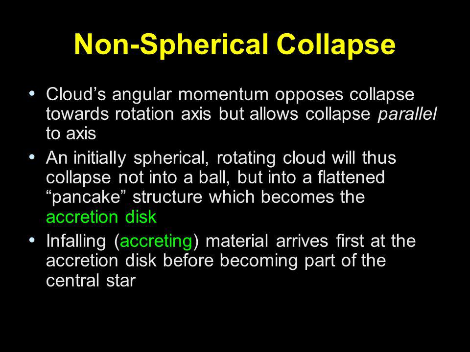 Non-Spherical Collapse