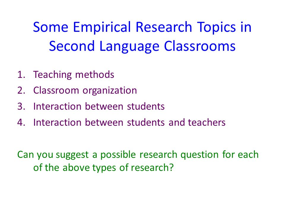 Classroom Research Ideas : Qualitative research classroom interaction analysis