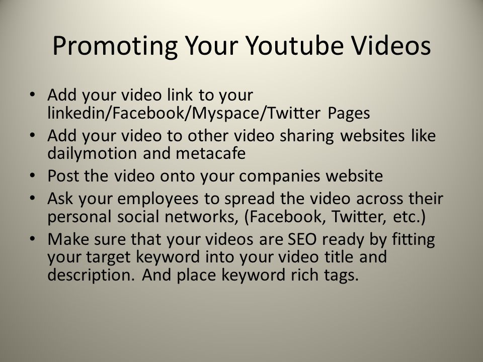 how to add facebook videos to youtube