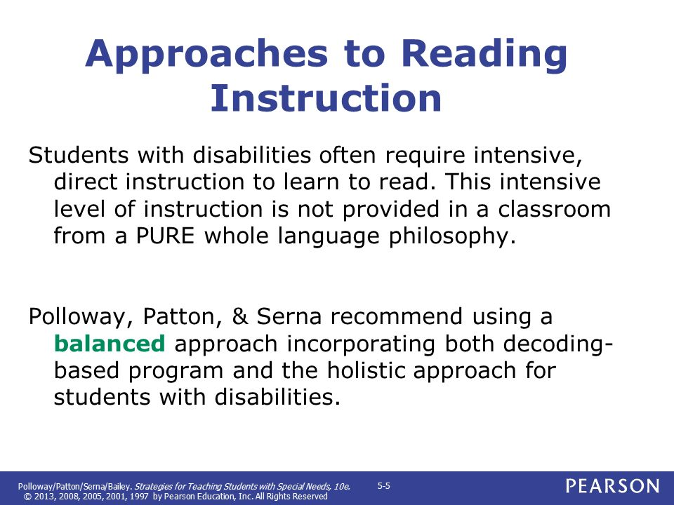 Approaches to Reading Instuction Flashcards   Quizlet