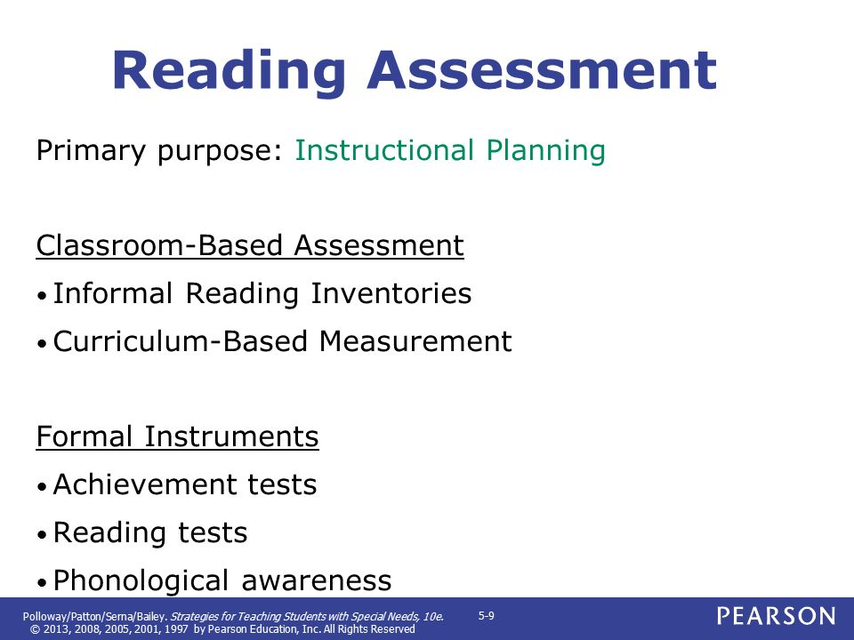 standardized test and informal reading assessments essay Informal reading inventory written report part i: student information and  description  since this student scored high in reading on standardized tests  and is placed  summary: a highly motivated student, courtney reads  confidently reads.