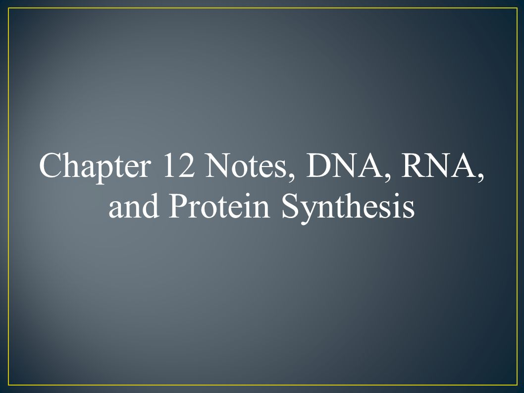 an analysis of nucleic acids and protein synthesis in dna Nucleotides and nucleic acids synthesis of nucleic acids (and especially synthesis of dna) requires synthesis of nucleotides one method for assessing the relative amount of protein and nucleic acid in a sample is to measure the a.