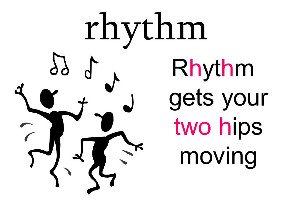 Rhythm gets your two hips moving