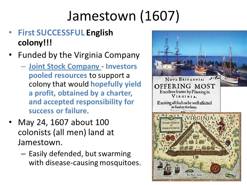 jamestown colony a success or failure Depending on how you look at it, the settlement of jamestown can be considered a success as well as a failure like every argument there is going to be.