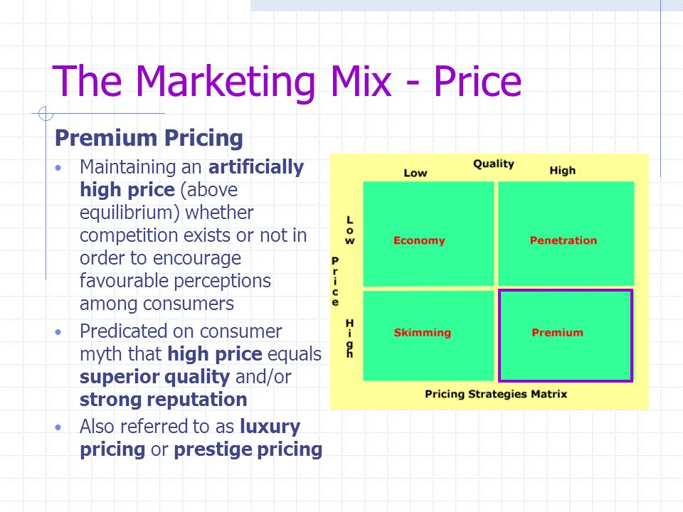 pricing objectives in marketing pdf