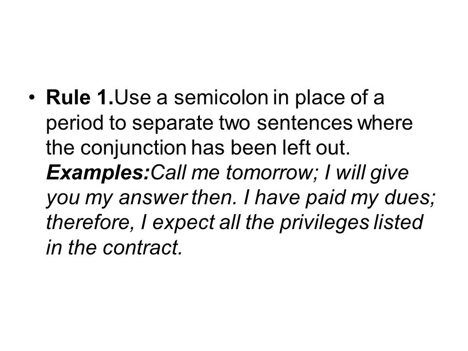 how to use therefore in the middle of a sentence