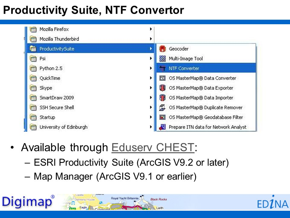 Productivity Suite, NTF Convertor