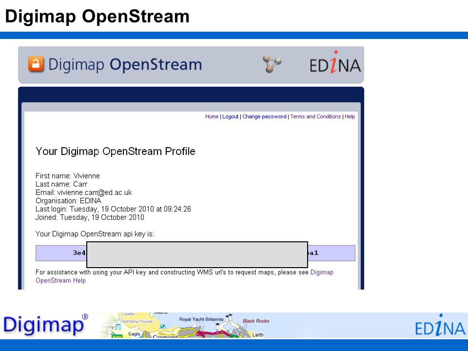 Digimap OpenStream