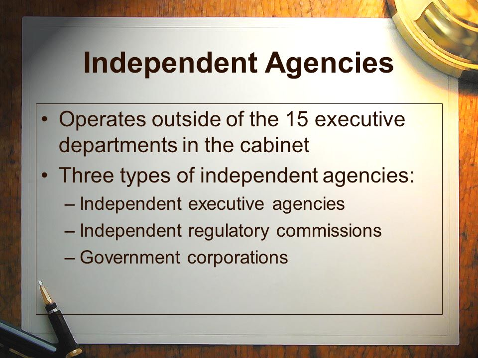 Cabinet Executive Departments And Agencies - Page 2 ...