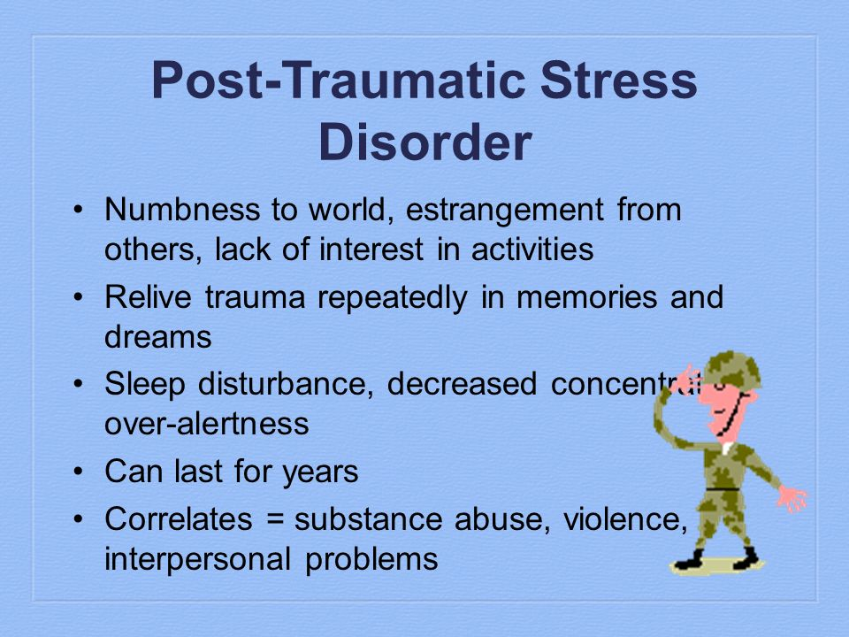 post traumatic stress disorder of world war A revolutionary approach to treating ptsd realities of post-traumatic stress disorder and its lesser janet to world war i and.