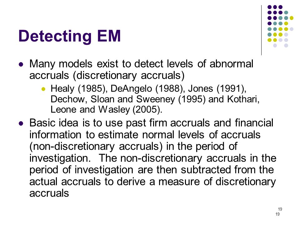 accrual-based e real earnings management