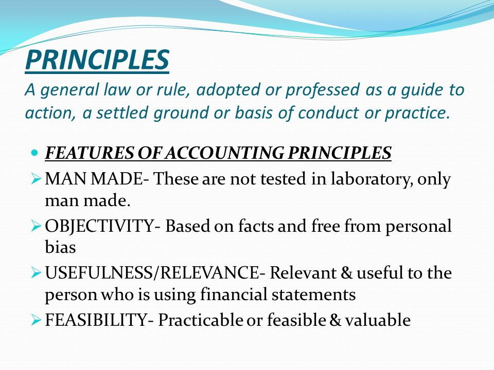 Generally accepted accounting principles 2 essay