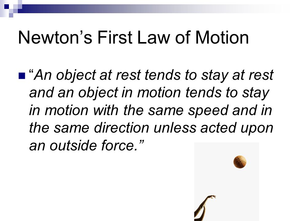 essay on laws of motion Seventeenth century scientific genius who developed the laws of motion, invented calculus and the reflecting telescope to name a few newton's first law of motion an object at rest will remain at rest unless acted on by an unbalanced force an object in motion continues in motion with the same speed and in the same direction unless.
