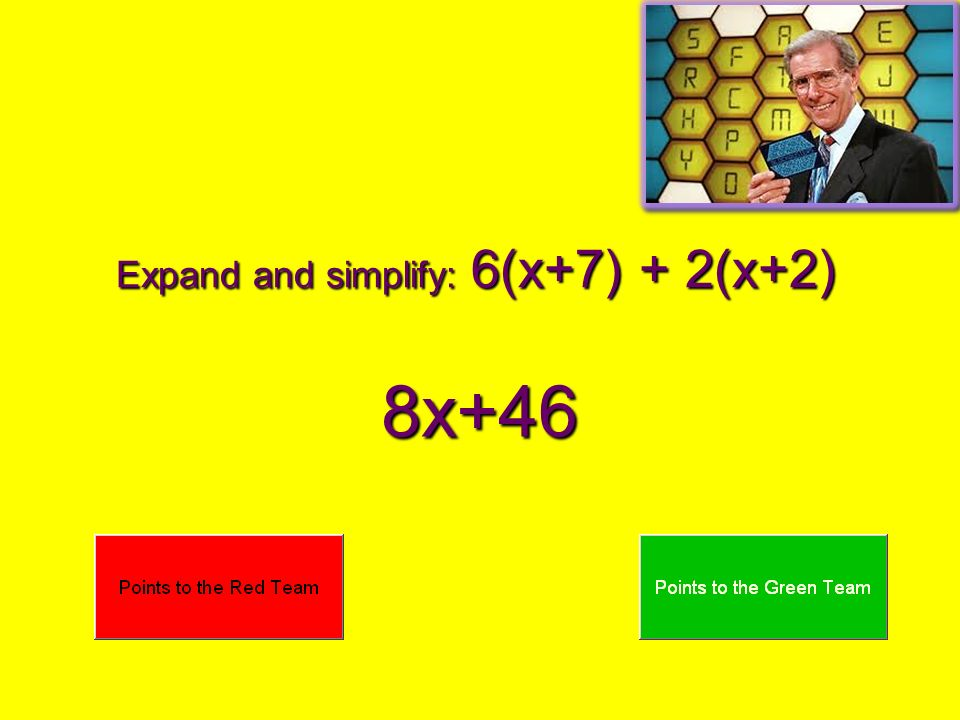 Expand and simplify: 6(x+7) + 2(x+2)