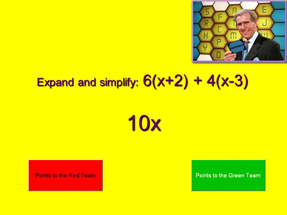 Expand and simplify: 6(x+2) + 4(x-3)