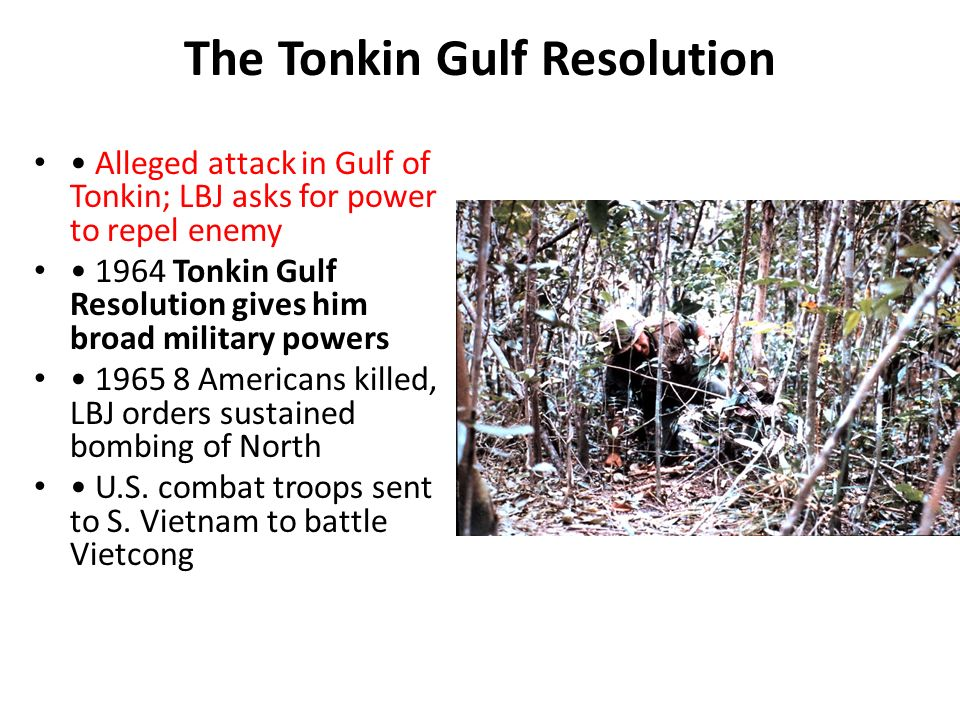 the tonkin gulf resolution essay