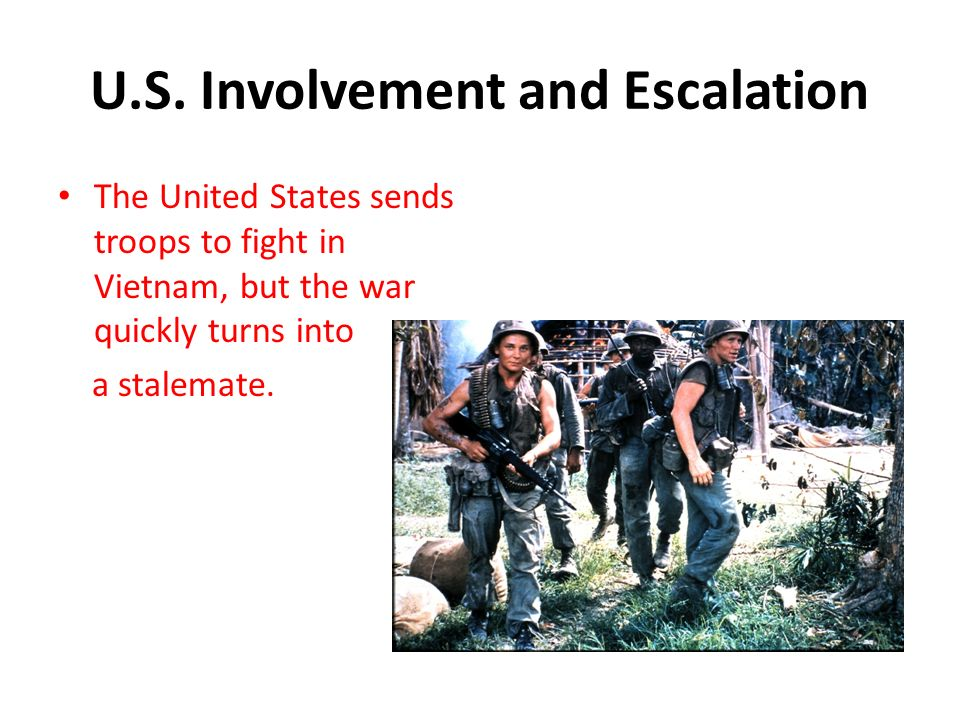 the united states involvement in the the vietnam war If you examine the issues and opinions of the day, one would draw a different picture of the events leading to american involvement in vietnam, than if you viewed them from just seeing the results of the war following world war 2, the united states followed a policy of containment regarding.