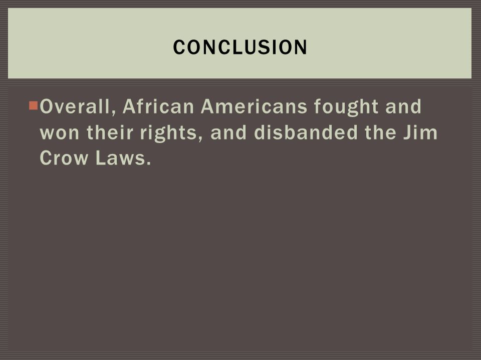 jim crow laws photo essay