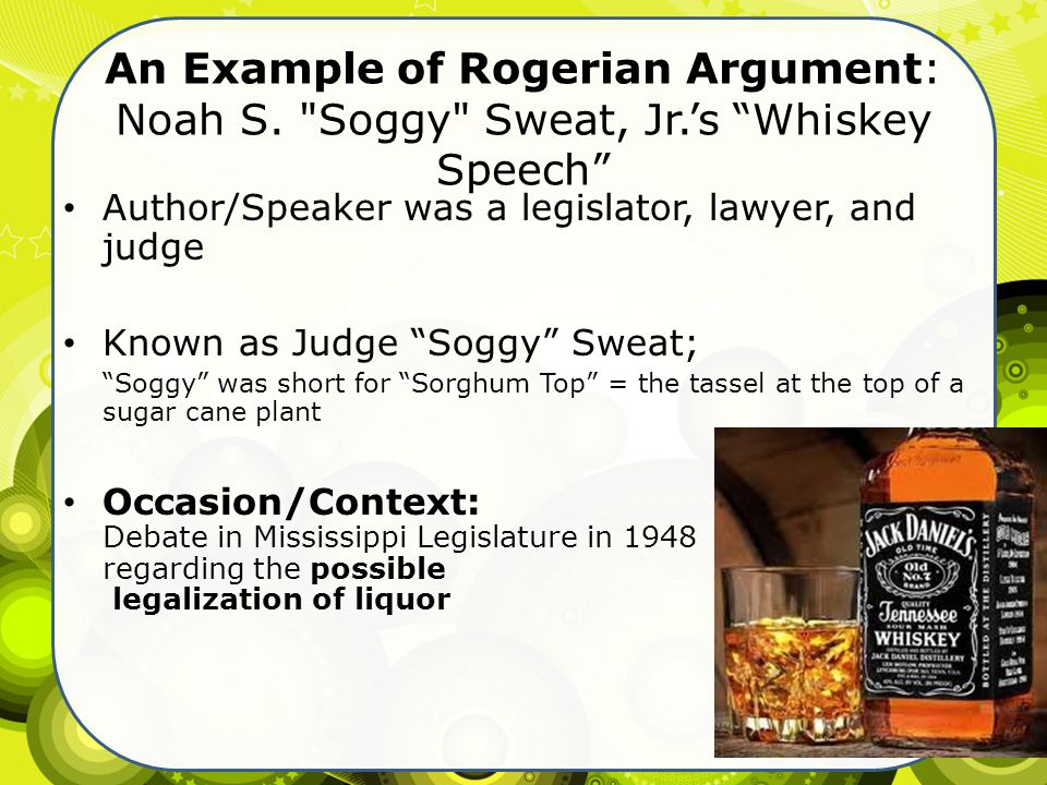 essay persuasive based on values or humor ppt video online an example of rogerian argument noah s soggy sweat jr
