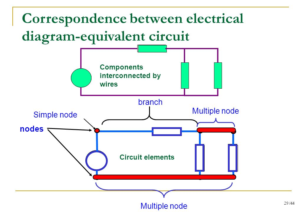 Correspondence+between+electrical+diagram equivalent+circuit passive components and circuits ccp ppt download  at soozxer.org