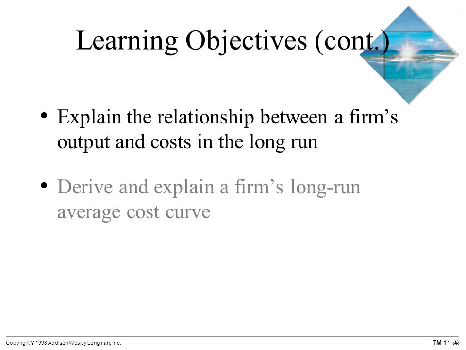 how to derive long run total cost function