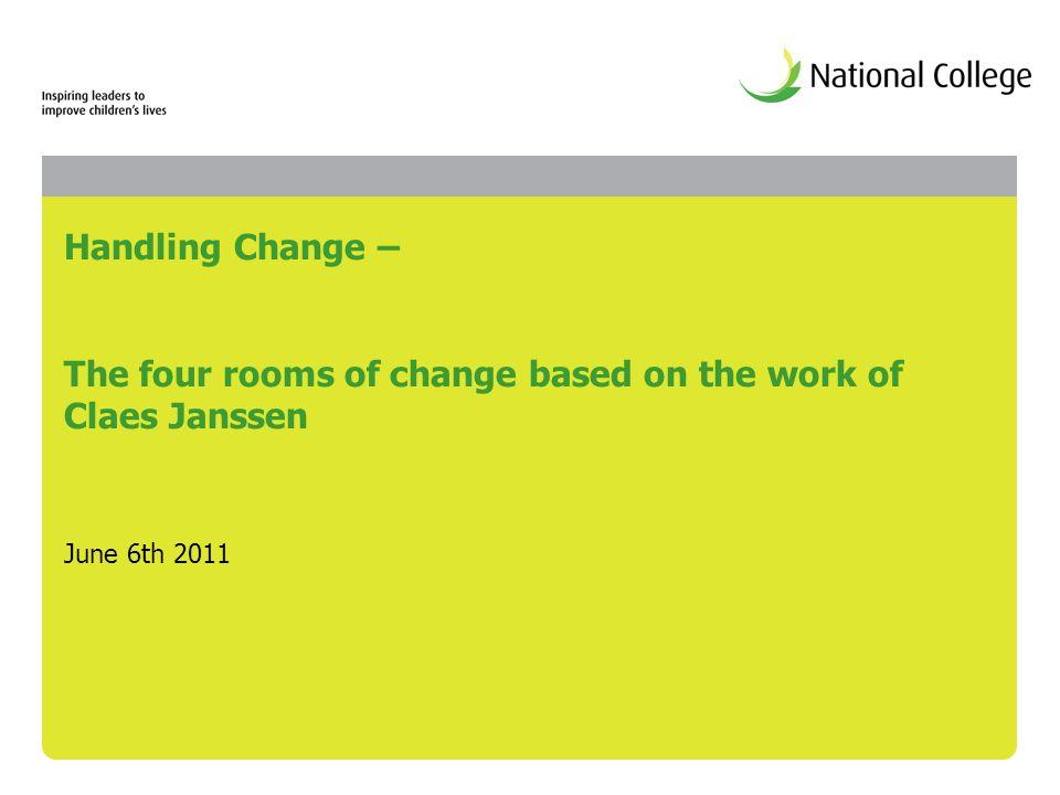 Claes Janssen Four Rooms Of Change