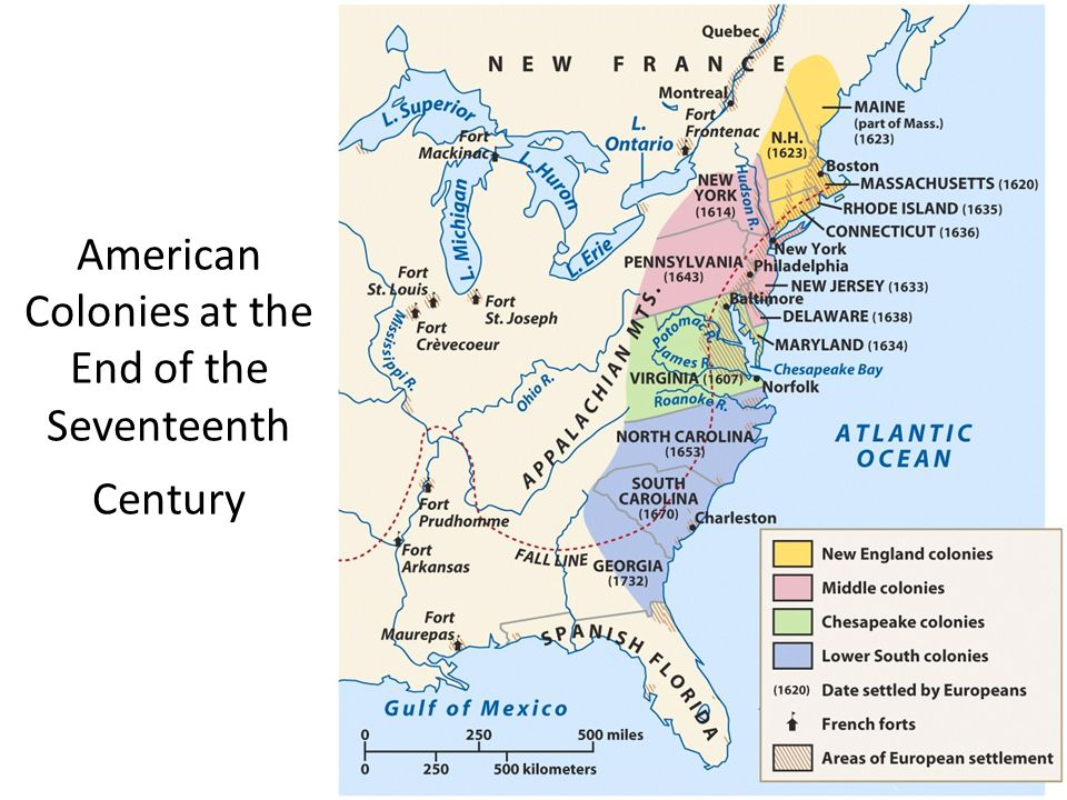 European Settlement Of North America Ppt Video Online Download: Map Of European Settlements In North America At Codeve.org