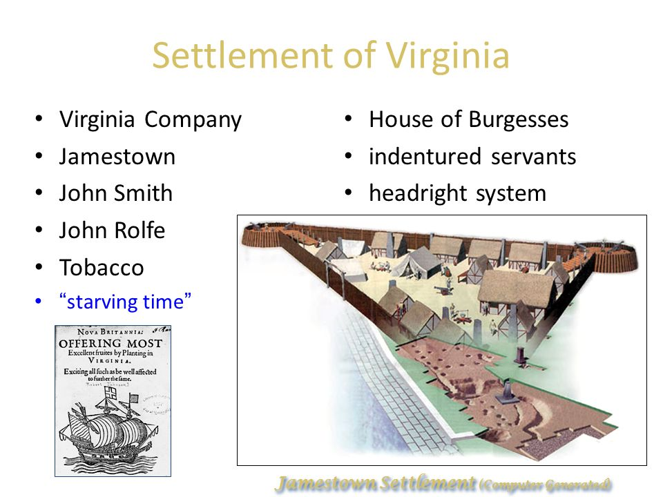 the 1606 presentation of charter to the virginia company for chesapeake settlements King james i assumed england's throne in 1603, and in an effort to raise funds, granted a charter (for financial considerations) to the virginia company in 1606, a group of london based entrepreneurs.