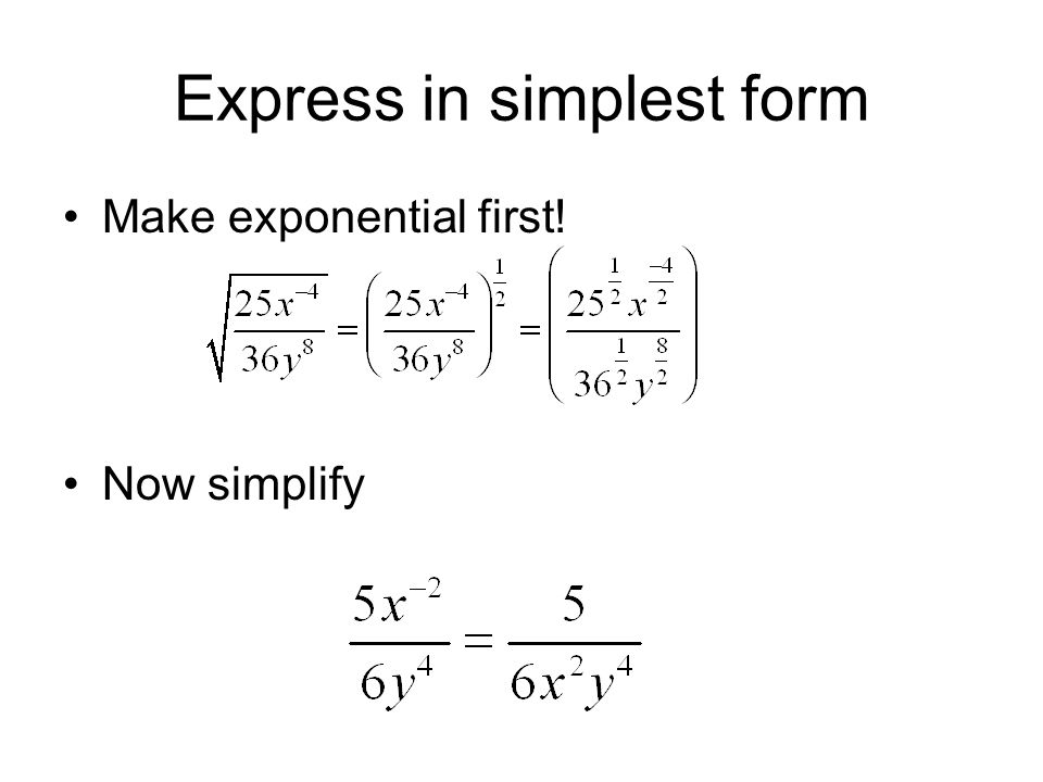 Rational Exponents Fraction Exponents. - ppt video online download