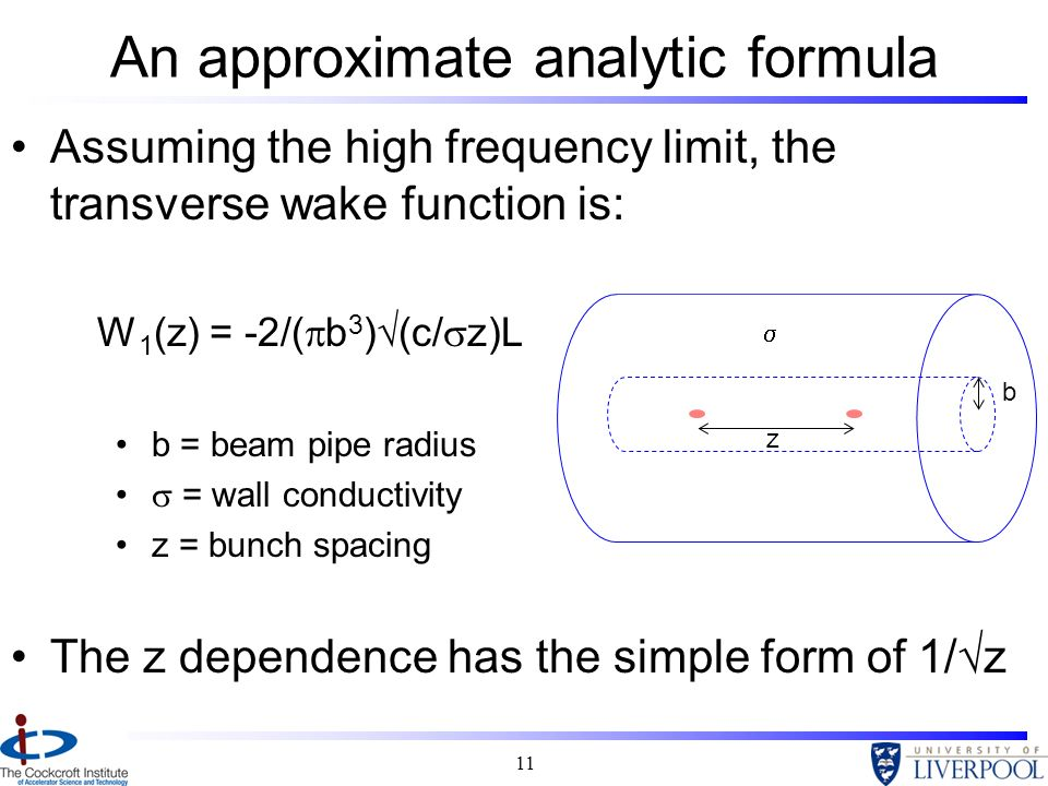 An approximate analytic formula