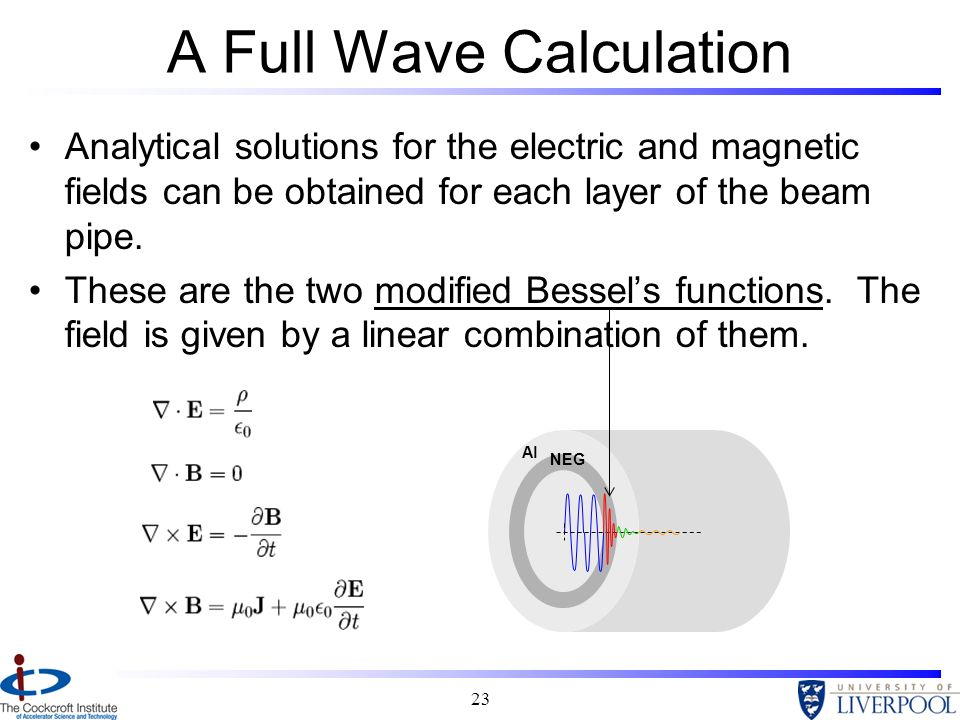 A Full Wave Calculation
