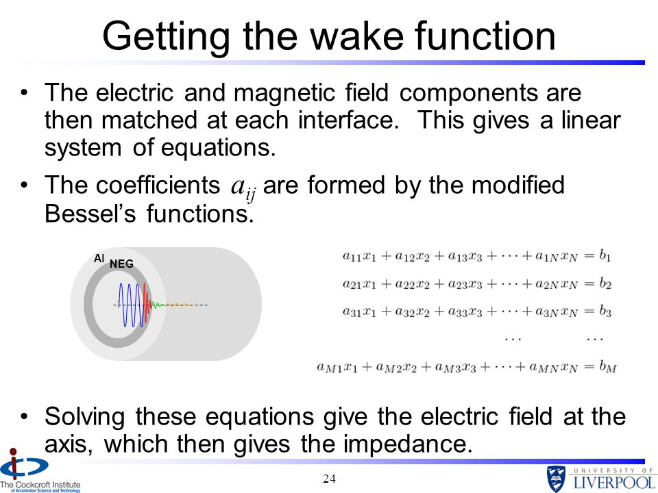 Getting the wake function