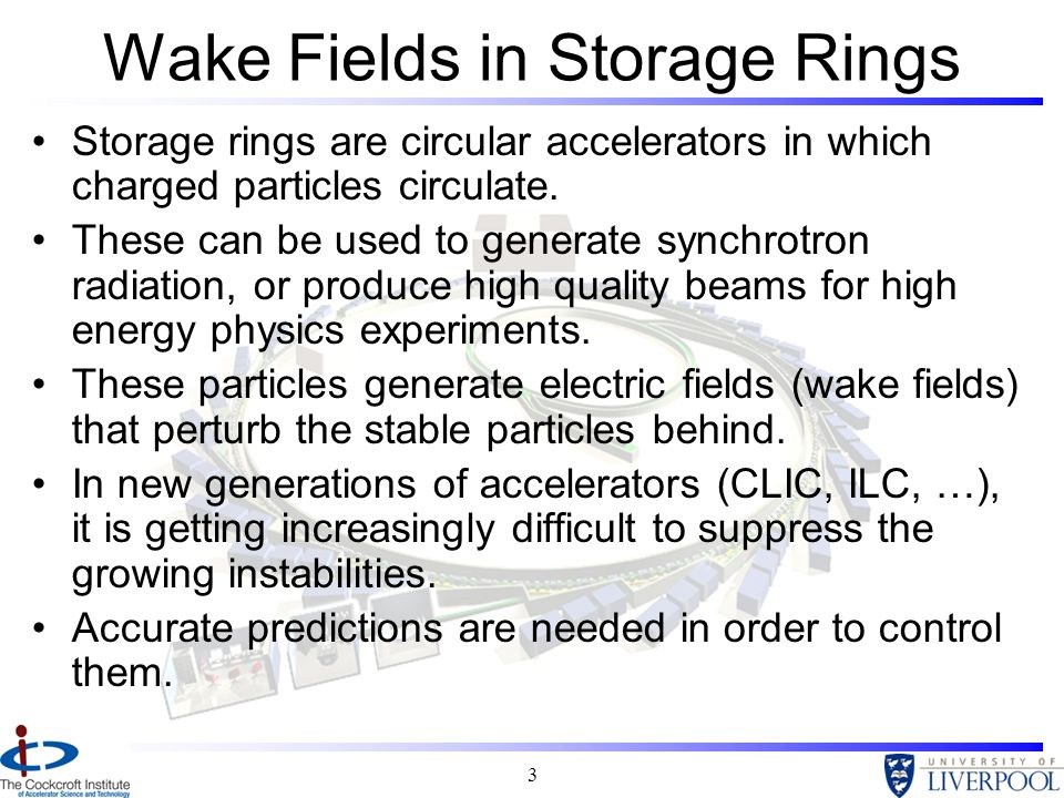 Wake Fields in Storage Rings