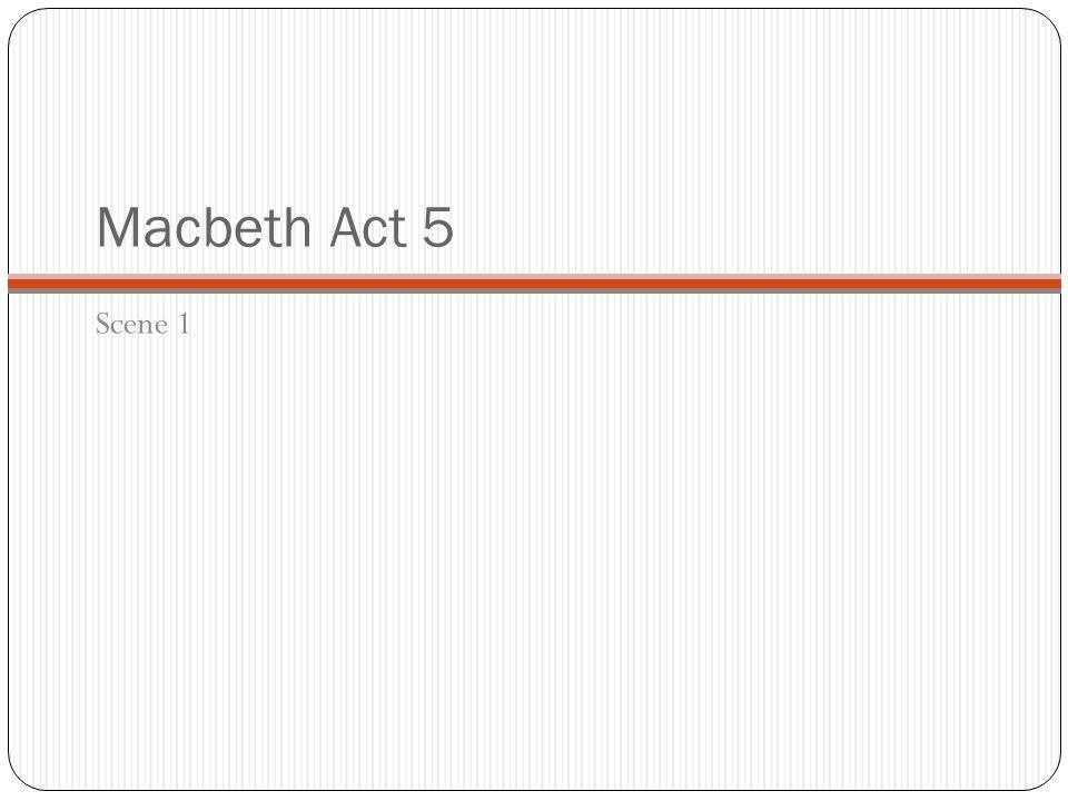 macbeth act 5 scene 5 pdf