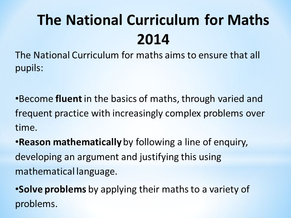 National Curriculum for England
