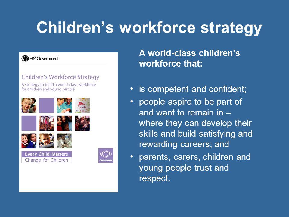 Children's workforce strategy