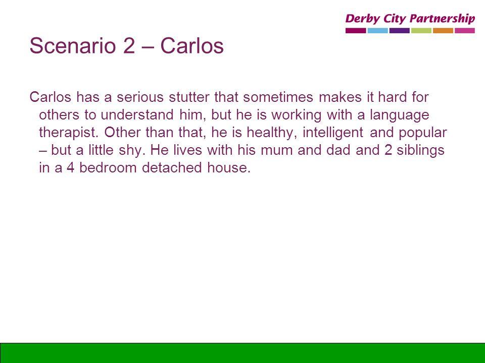 Scenario 2 – Carlos