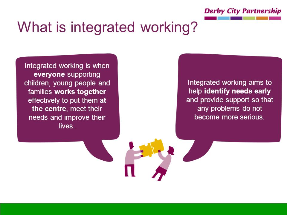 What is integrated working