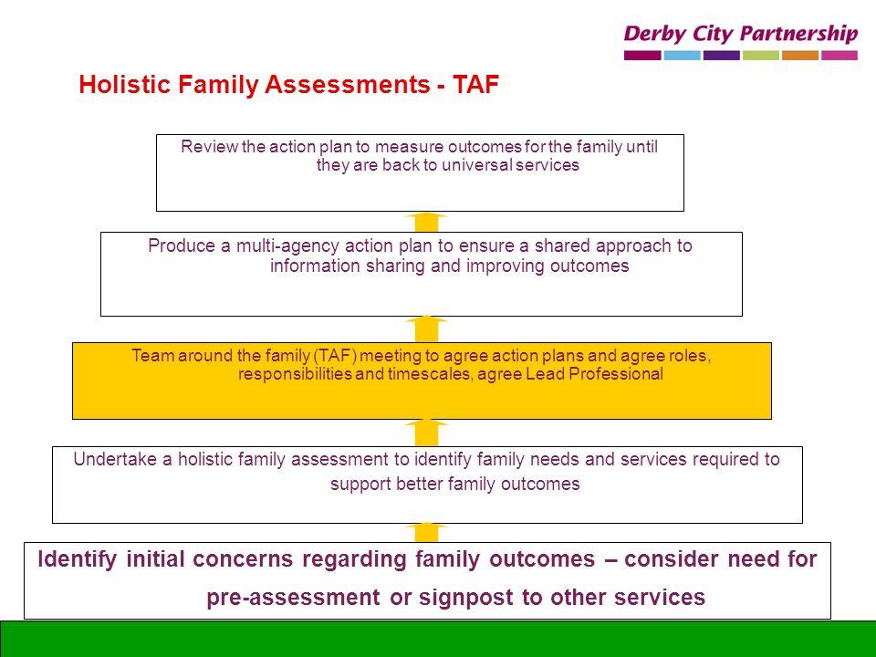Holistic Family Assessments - TAF
