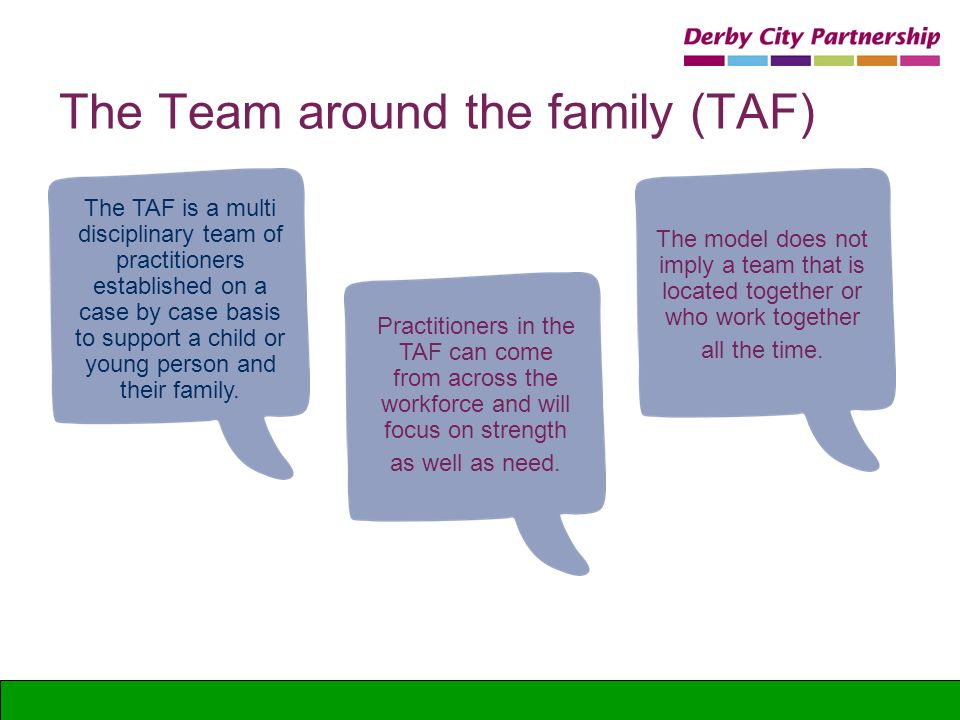 The Team around the family (TAF)